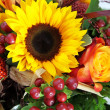 Stock Photo: Sunflower Bouquet