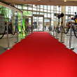 The red carpet — Stock Photo