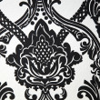 Wallpaper or fabric design in black and white — Stock Photo #5190014