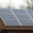 Solar energy on roof - — Stock Photo #5190062