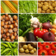 Stock Photo: Vegetable collection isolated on white background.