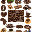 Stock Photo: Fragrant coffee in combination to gentle chocolate