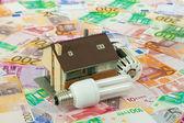 Energy saving Costs — Zdjęcie stockowe
