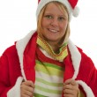 Chrismas Girl — Stock Photo