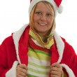 Chrismas Girl — Stock Photo #4152380