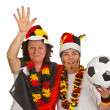 Royalty-Free Stock Photo: Female Soccer Fans