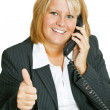 Foto Stock: Freindly Businesswoman