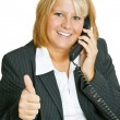 Freindly Businesswoman - Stock Photo