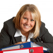 Friendly businesswoman — Stock Photo #4697002