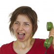 On the phone — Stock Photo #4767683