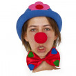 Funny Clown - Stock Photo