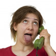 On the phone — Stock Photo #5185978