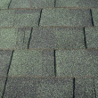 Stock Photo: Green Asphalt Shingles