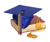 Graduation Hat and Honor Cord — Stock Photo