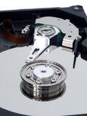 Hard Disk Drive Closeup — Stock Photo