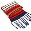 Scarf with long brushes - Stock Photo