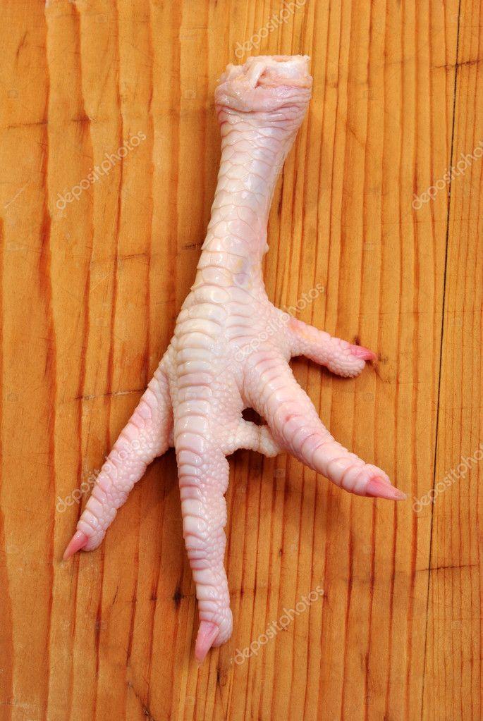 Ногти курицы