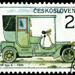 Vintage postage stamp. Old-time classical cars. 4. — Stock Photo #4199122