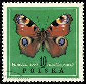Vintage postage stamp. Butterfly Vanessa. — Stockfoto