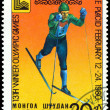 Vintage postage stamp. Olympic games in Lake Placid. 5. — Stock Photo #4530664