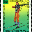 Vintage postage stamp. Olympic games in Lake Placid. 7. — Stock Photo #4530676