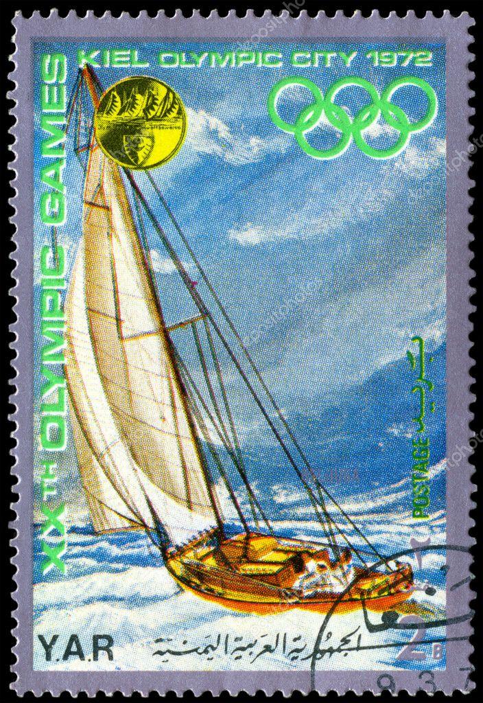 Igrzyska Olimpijskie Letnie Letnie Igrzyska Olimpijskie Eglarstwo wy Cigi w Kil Seria ok 1972