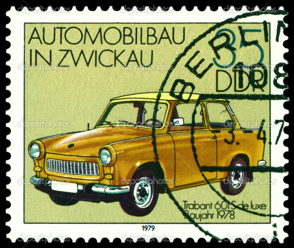 automobile Trabant 601S,