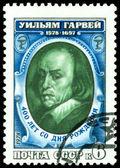 Vintage postage stamp. Portrait Uiliyam Garvey. — Stock Photo