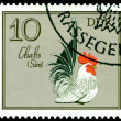 Vintage postage stamp. Chabo Cock. — Stock Photo #5286907