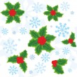 Christmas seamless pattern with snowflakes — Stock Vector #4411448