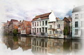 Ghent, Belgium. — Stock Photo