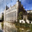 Stock Photo: Bruges canal, Belgium