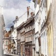 Stock Photo: Streets of Ghent, Belgium