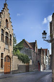 Streets of Bruges, Belgium — Stock Photo