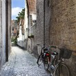Stock Photo: Streets of Bruges, Belgium