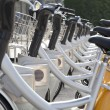 City Bikes for rent — Stock Photo