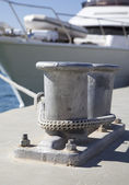 Moored Yacht — Stock Photo