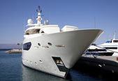 Large yacht — Stock Photo