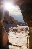 Caves of Petra — Stock Photo