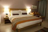 Camera da letto hotel — Foto Stock
