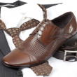 Stock Photo: Formal wear and shoes