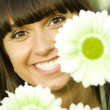 Flowers portrait — Stock Photo