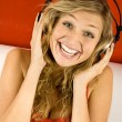 Listening music — Stock Photo #3943070