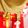 Christmas gifts — Stock Photo #4145426