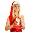 Beautiful christmas woman — Stock Photo #4163445