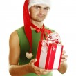 Christmas men — Stock Photo #4222540