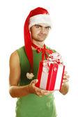 Christmas men — Stock Photo