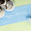 Foto Stock: Happy birthday