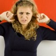 Neither want to hear — Stock Photo #4612445