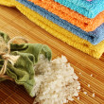 Bath Supplies — Stock Photo